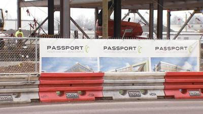 Passport HQ under construction