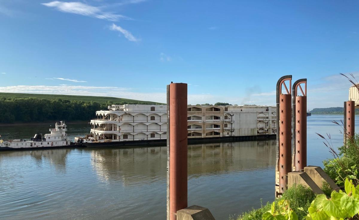 The Glory of Rome - Caesars' riverboat casino departs - Aug. 11, 2020
