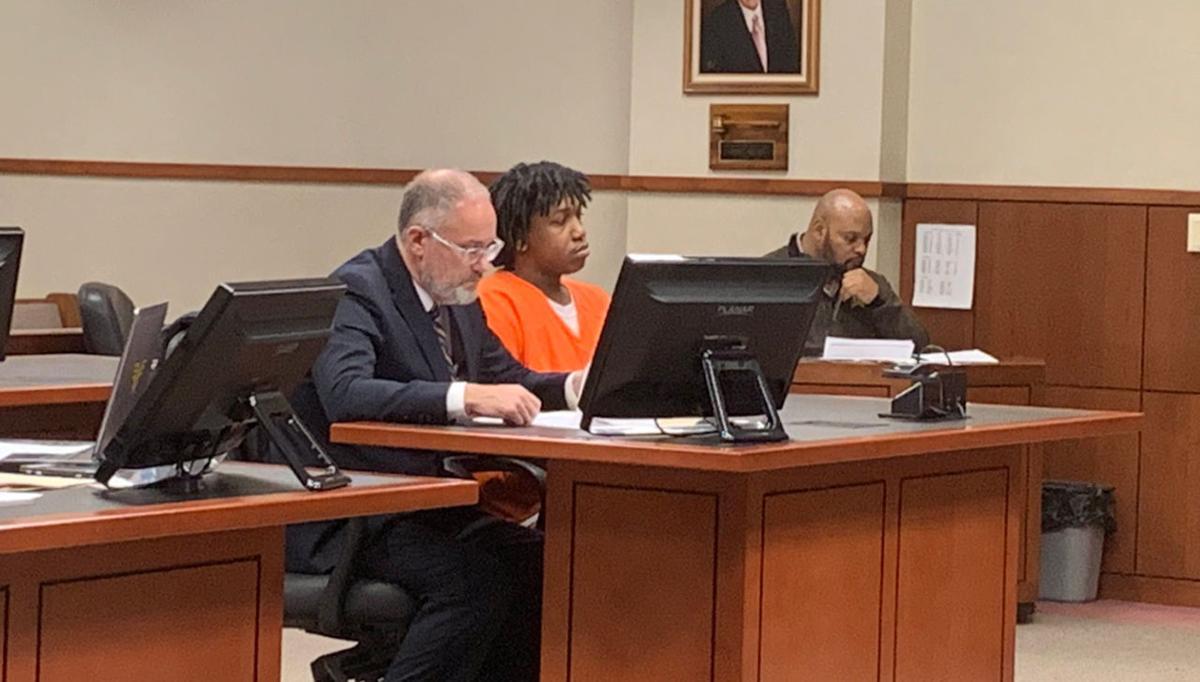 Wyatt Williams in court Feb. 18, 2018