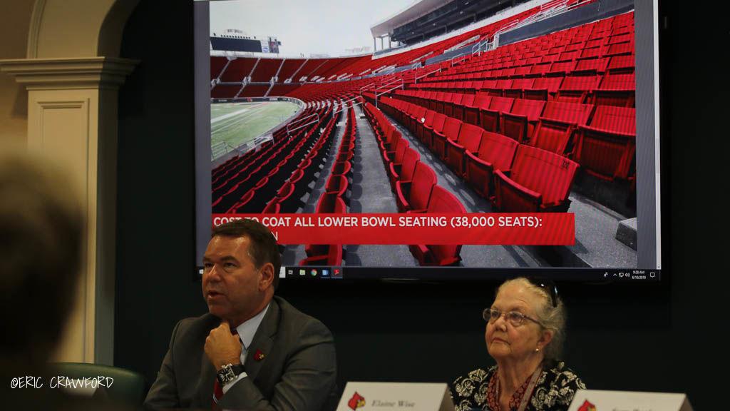 Tyra Cardinal Stadium seats