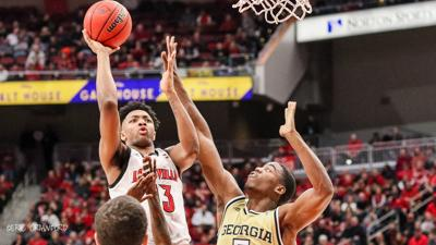 CRAWFORD | Louisville closes again, clamps down on D to beat Georgia Tech, 68-64