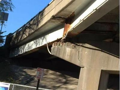 Closed I-64 ramp targeted for replacement, rehab since 2002, records show