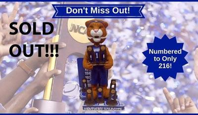 SOLD OUT: Limited-edition Ky. Wildcats NCAA bobbleheads snatched up within hours