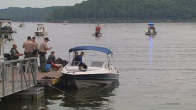Crews conducting search and rescue after possible drowning at Taylorsville Lake