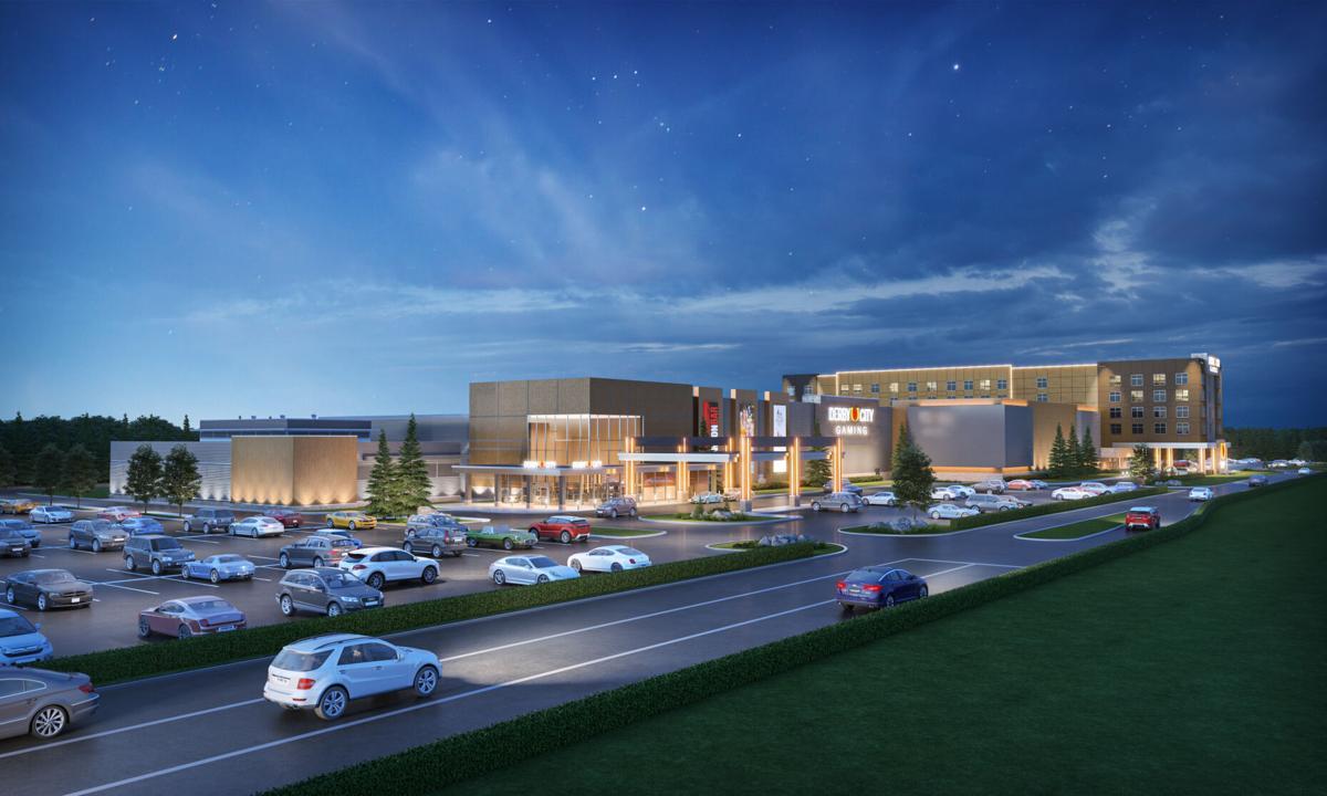 Derby City Gaming hotel rendering