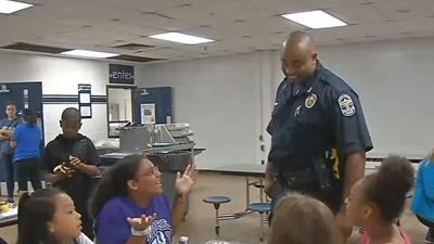 LMPD school resource officer at JCPS