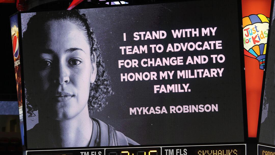 I Stand: Mykaasa Robinson