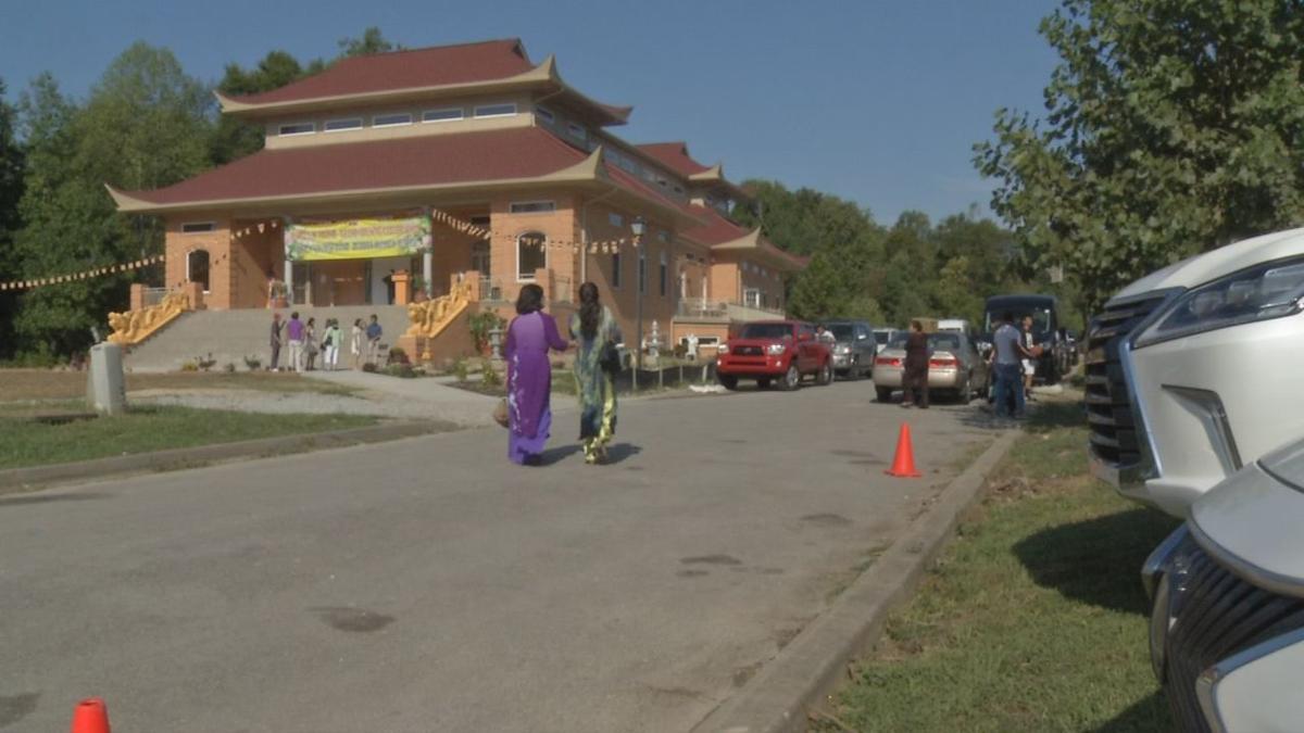 Buddhist temple opens