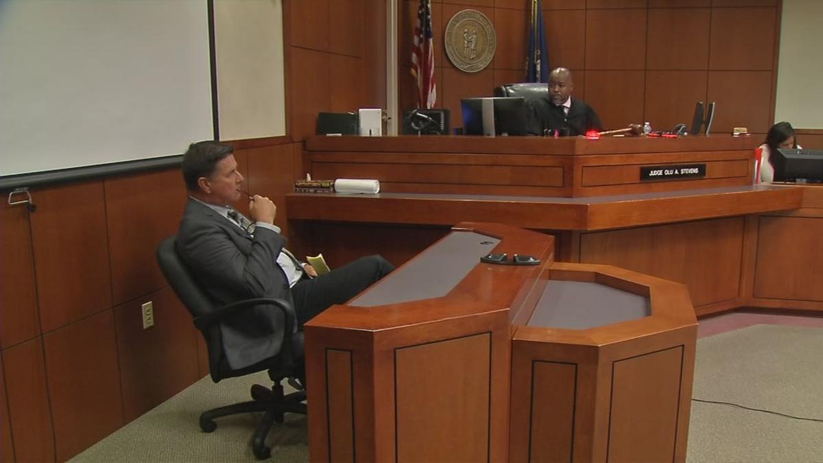 Mark Handy in court