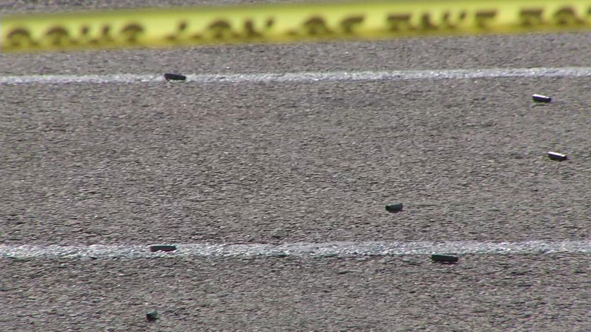 South 3rd Kroger shooting 8-11-20.jpeg bullets in the parking lot