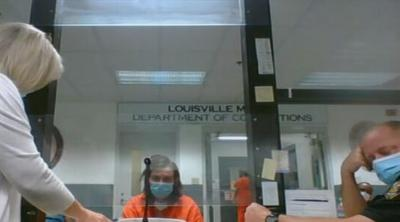 Darrell Browning in court on April 13, 2021