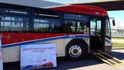 WiFi and charging stations on new TARC buses