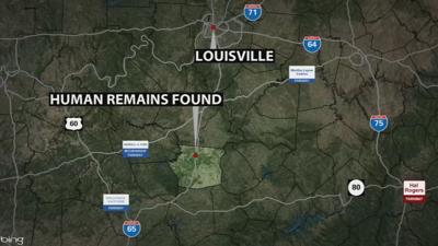 Map - Human Remains Hart County