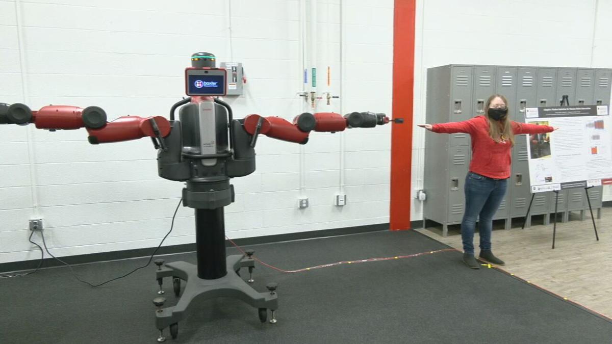 U of L research robot 'Baxter'