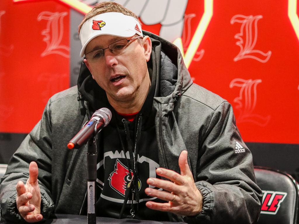 Scott Satterfield, Louisville football coach
