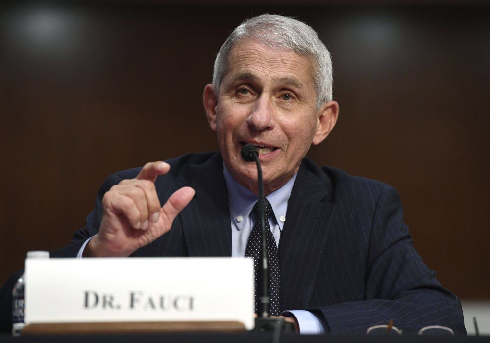 Dr. Anthony Fauci, June 30, 2020