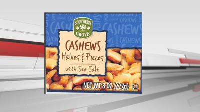 RECALL: Cashews recalled in 29 states including Kentucky and Indiana