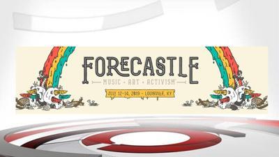 2019 Forecastle Festival banner