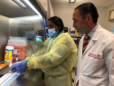 Dr. Julio Ramirez - U of L research
