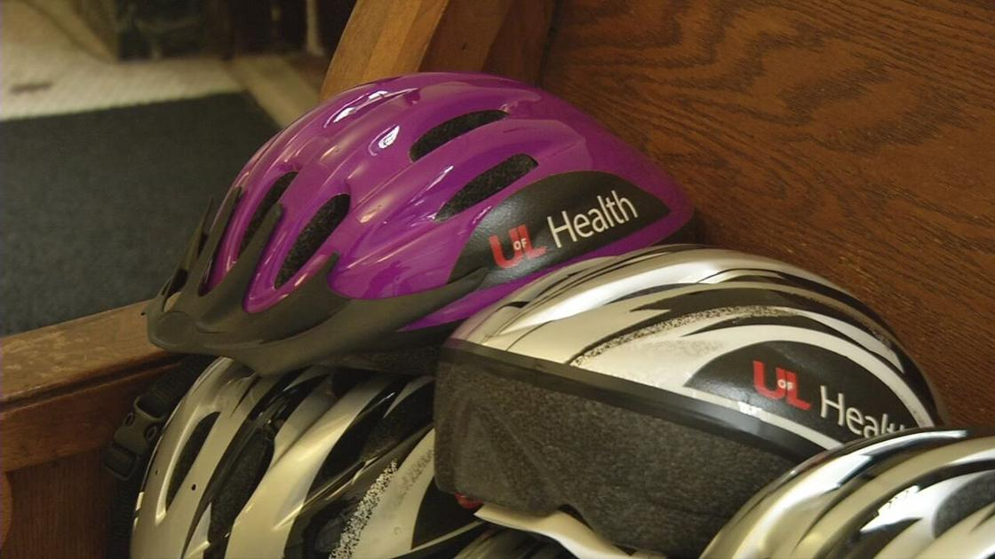 Helmet donation to help ensure proper safety for Louisville adults who rely on bicycles