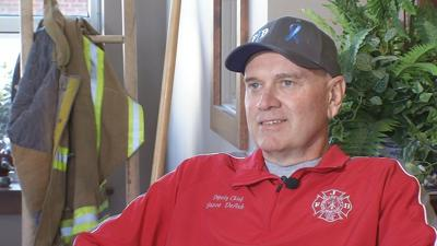Jeffersonville firefighter using cancer diagnosis to help save lives