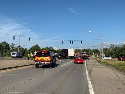 Crash at Outer Loop and I-65 North