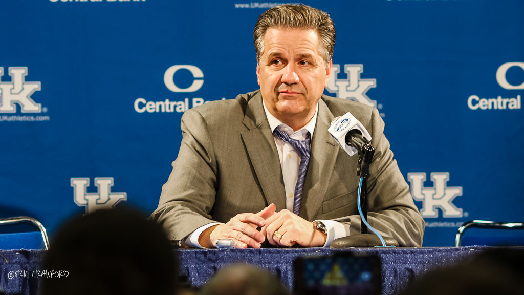 John Calipari news conference