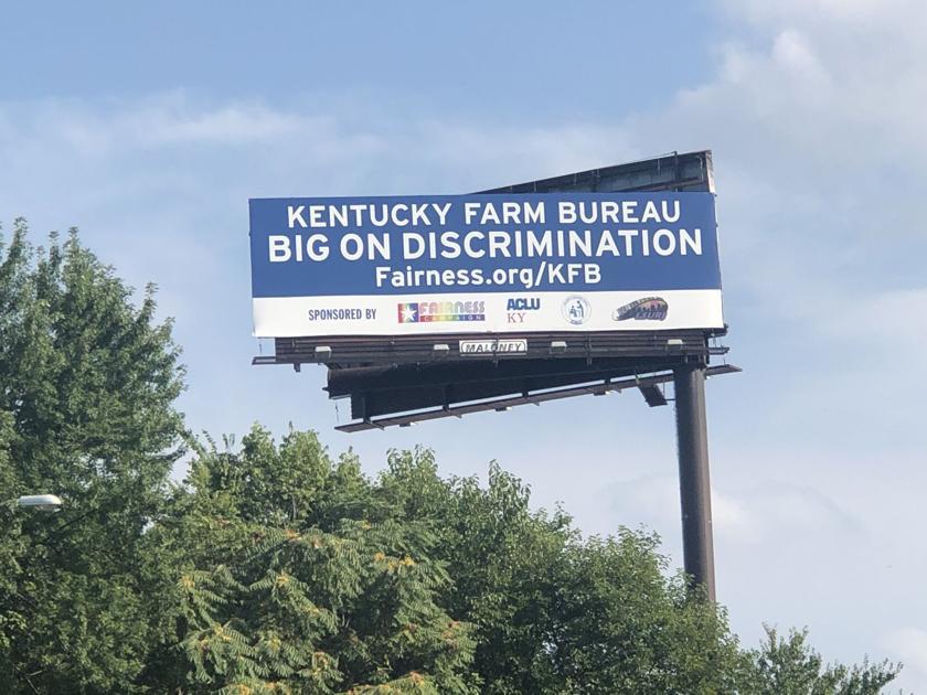 Billboard In Louisville Accuses Kentucky Farm Bureau Of Being Big On Discrimination News Wdrb Com