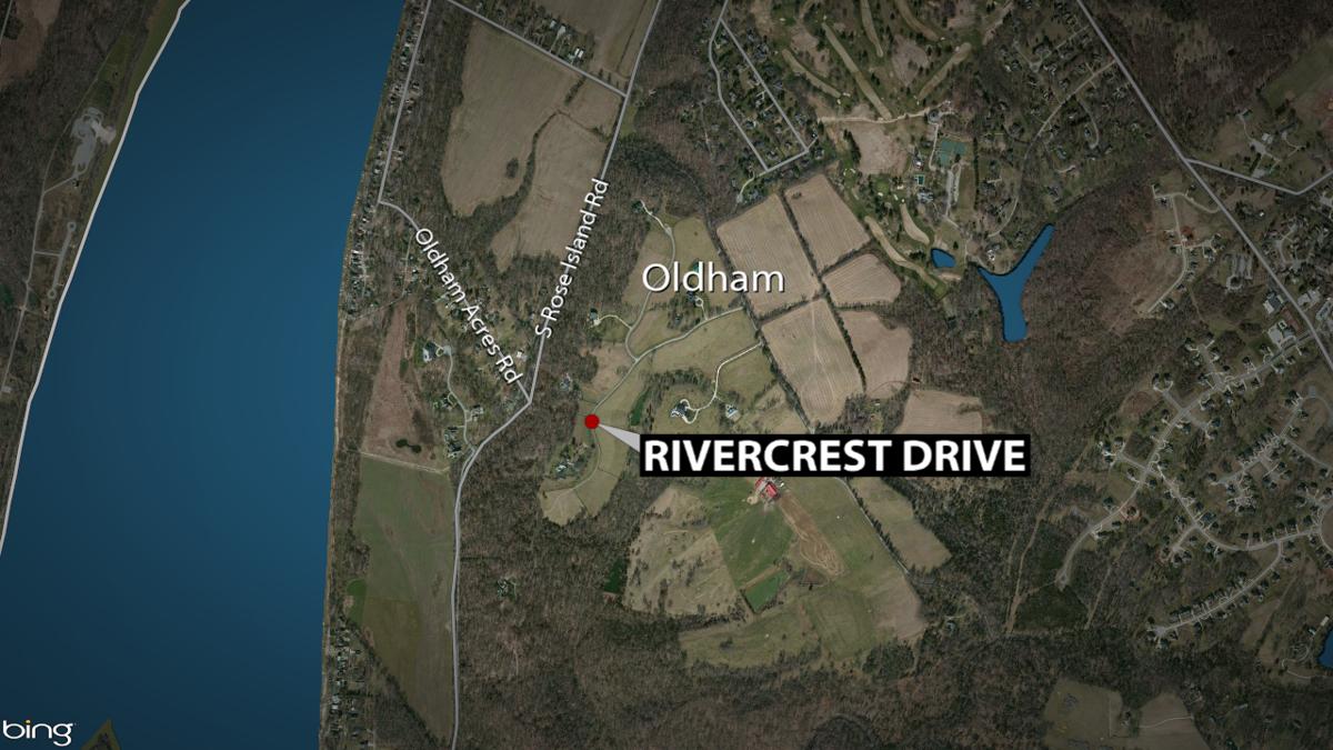 Oldham Co. death investigation map