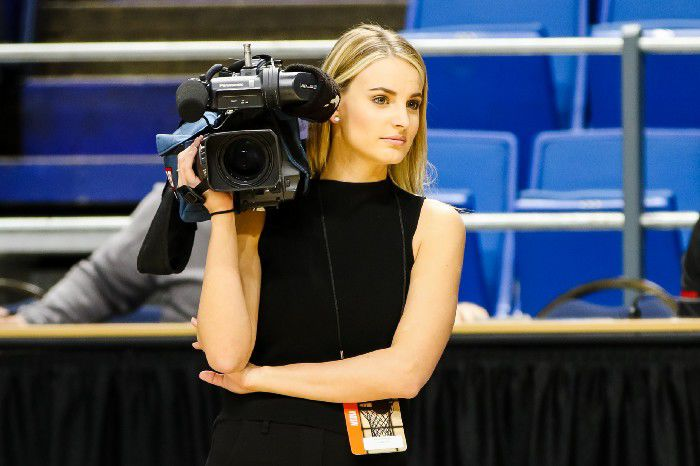 Former U of L volleyball player, WDRB reporter Katie George