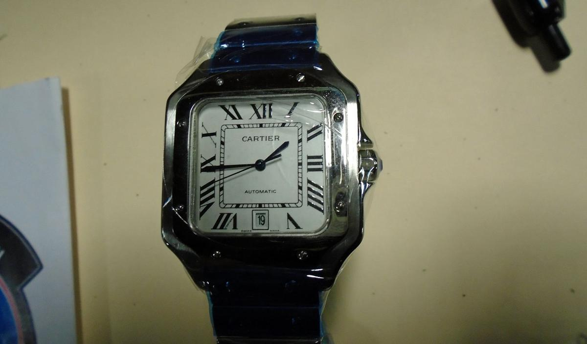 Counterfeit watch seized by U.S. Customs and Border Protection officials in June 29 shipment