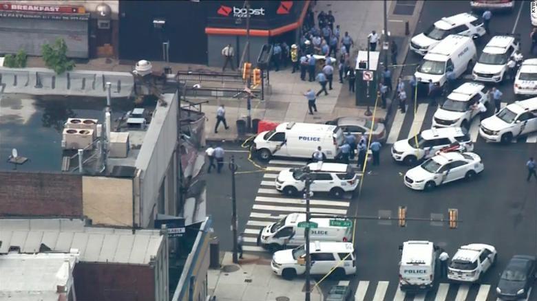 Active shooting situation in Philadelphia (Aug. 14, 2019)