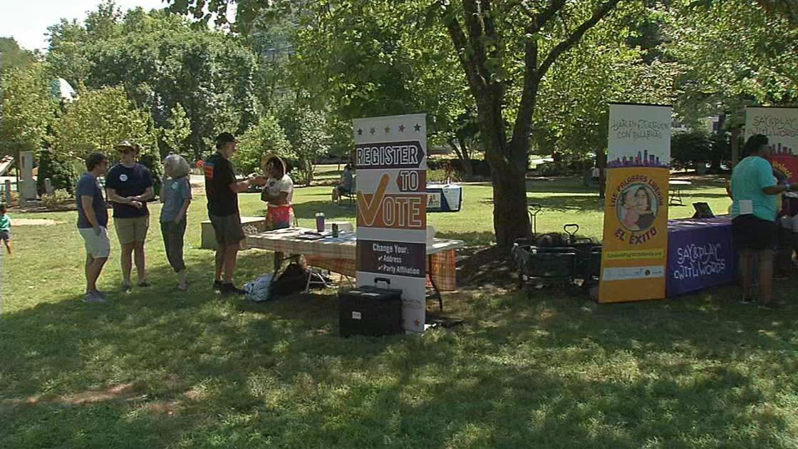 State leaders hold Rally for Pre-K event at Brown Park