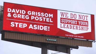 Billboard in Jeffersonville demands that U of L leadership 'Step Aside!'