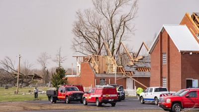 Paducah tornado church