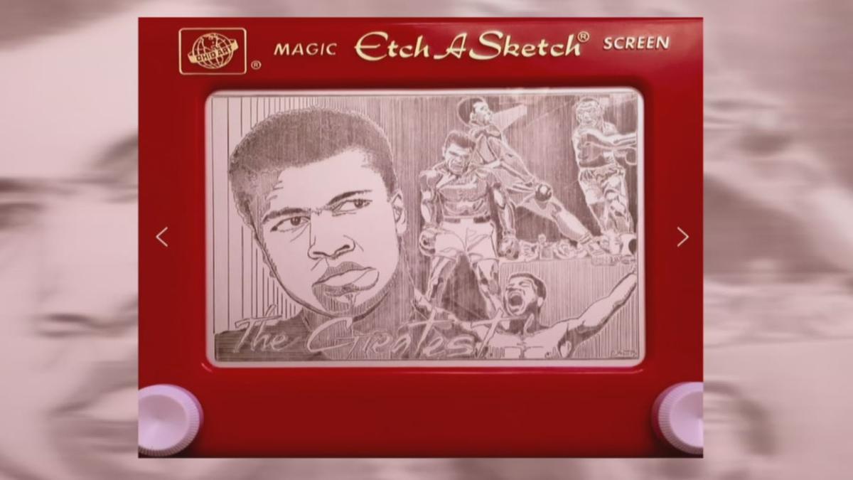 Etch A Sketch art 1