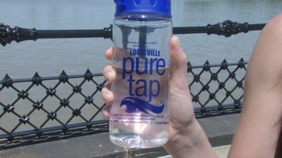 "Louisville Water celebrates 21st anniversary ""Pure Tap"" drinking water"