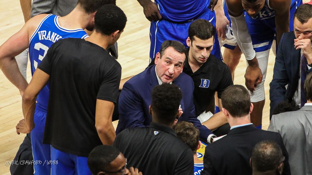 Duke's Mike Krzyzewski