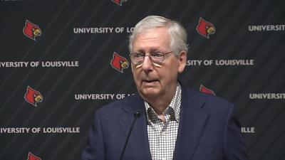US Sen. Mitch McConnell on May 3, 2021
