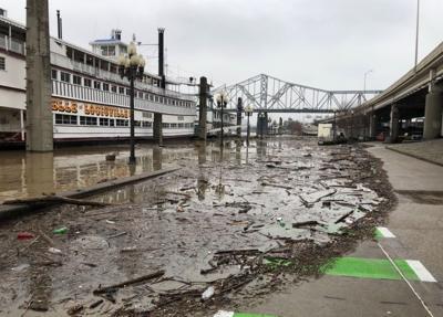 Rising Ohio River level has communities preparing for possible flooding