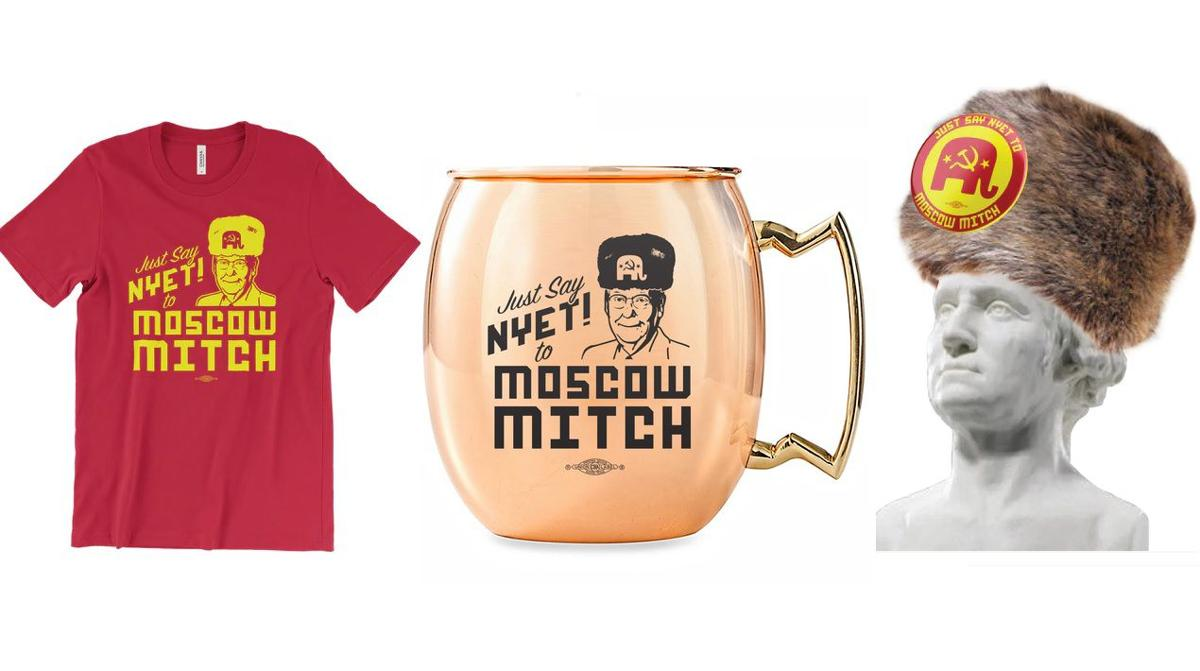 Kentucky Democrats making big money selling 'Moscow Mitch' merchandise |  News | wdrb.com