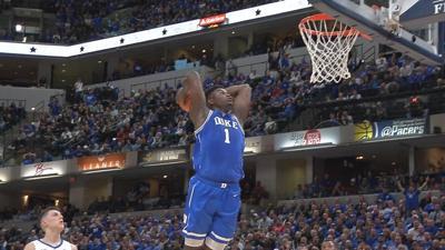 Zion Williamson dunk