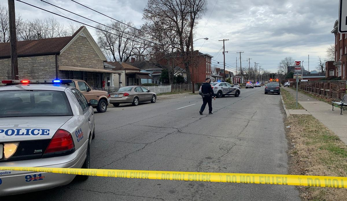 Homicide scene - Bank Street and North 22nd Street - Dec. 23, 2020