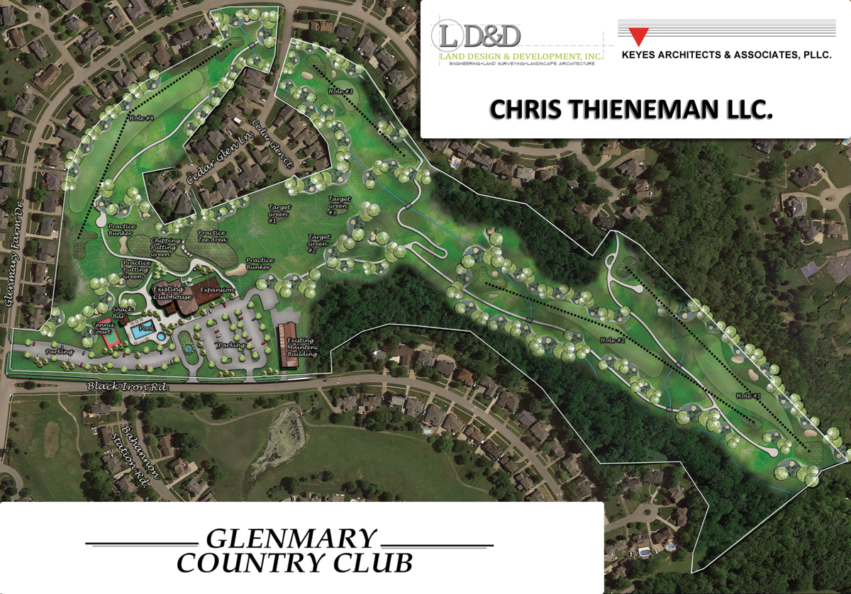 Glenmary Country Club plans
