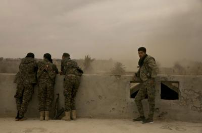 Syrian Democratic Forces via AP