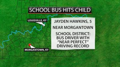 Five-year-old child hit and killed Monday by Butler County school bus