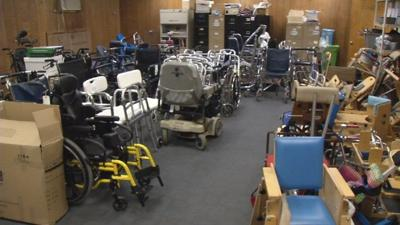 Local organization provides used medical equipment to people in need
