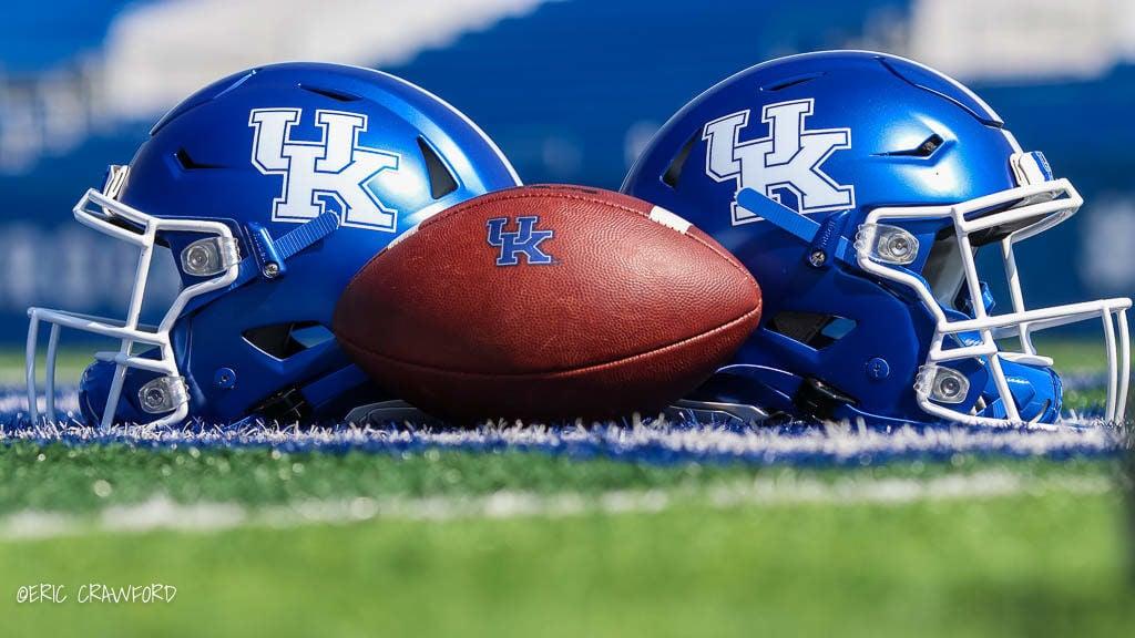 Kentucky football helmets