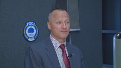 Elizabethtown Police Chief Jeremy Thompson