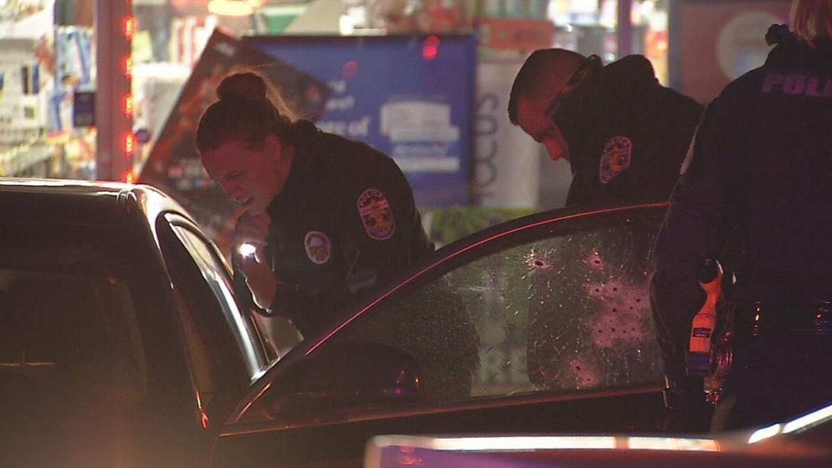South 4th Street Car Shot